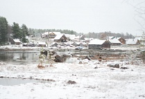 October snow at Nilmoguba village!
