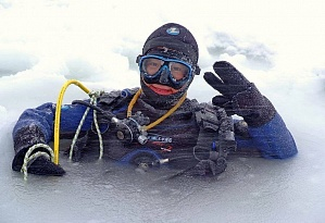 Divers from China have successfully completed Ice Diver PADI course!